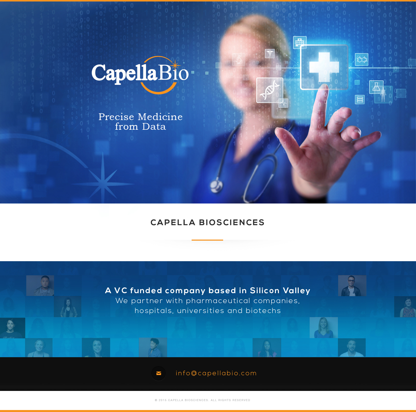 Capella Biosciences | CapellaBio | Precise Medicine from Data | CEO Pek Lum | Palo Alto California